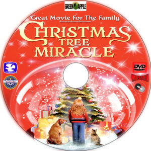 A Christmas Tree Miracle dvd label