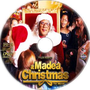A Madea Christmas dvd label