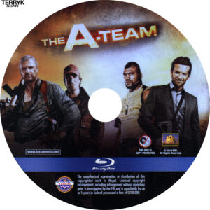A-Team, The (Blu-ray) Label
