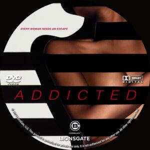 addicted dvd label