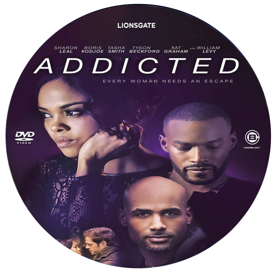 addicted dvd label  2014  r0 custom art