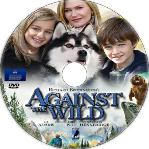 Against the Wild dvd label
