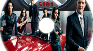 Agents of S.H.I.E.L.D. dvd label