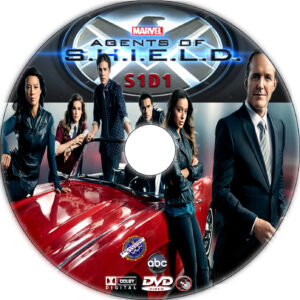 Agents of S.H.I.E.L.D. dvd label