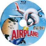 Airplane (1980) Blu-Ray DVD Label