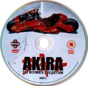Akira dvd label