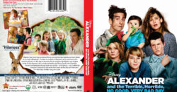 Alexander and the Terrible, Horrible, No Good, Very Bad Day dvd cover