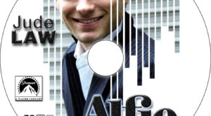 alfie dvd label