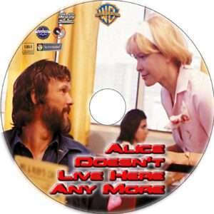 Alice Doesn't Live Here Anymore dvd label