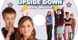 Alice Upside Down dvd label