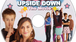 Alice Upside Down dvd label