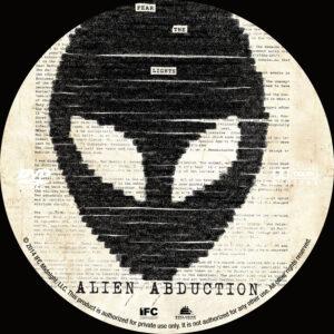 Alien Abduction dvd label