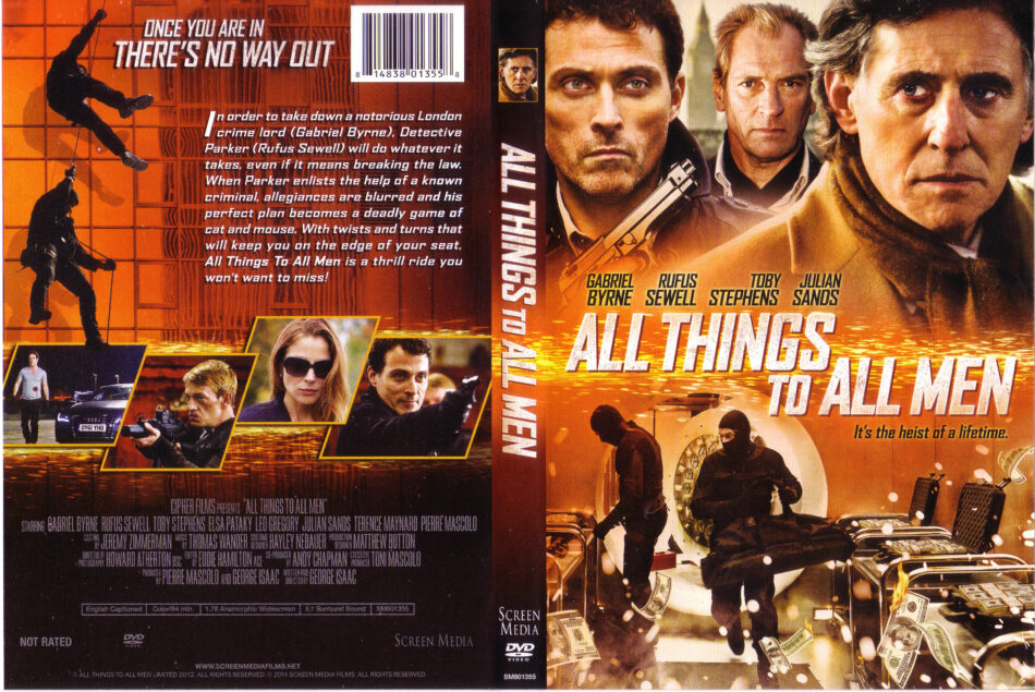 All Things To All Men dvd cover