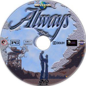 always dvd label