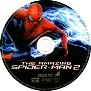 Amazing Spider-Man 2 dvd label