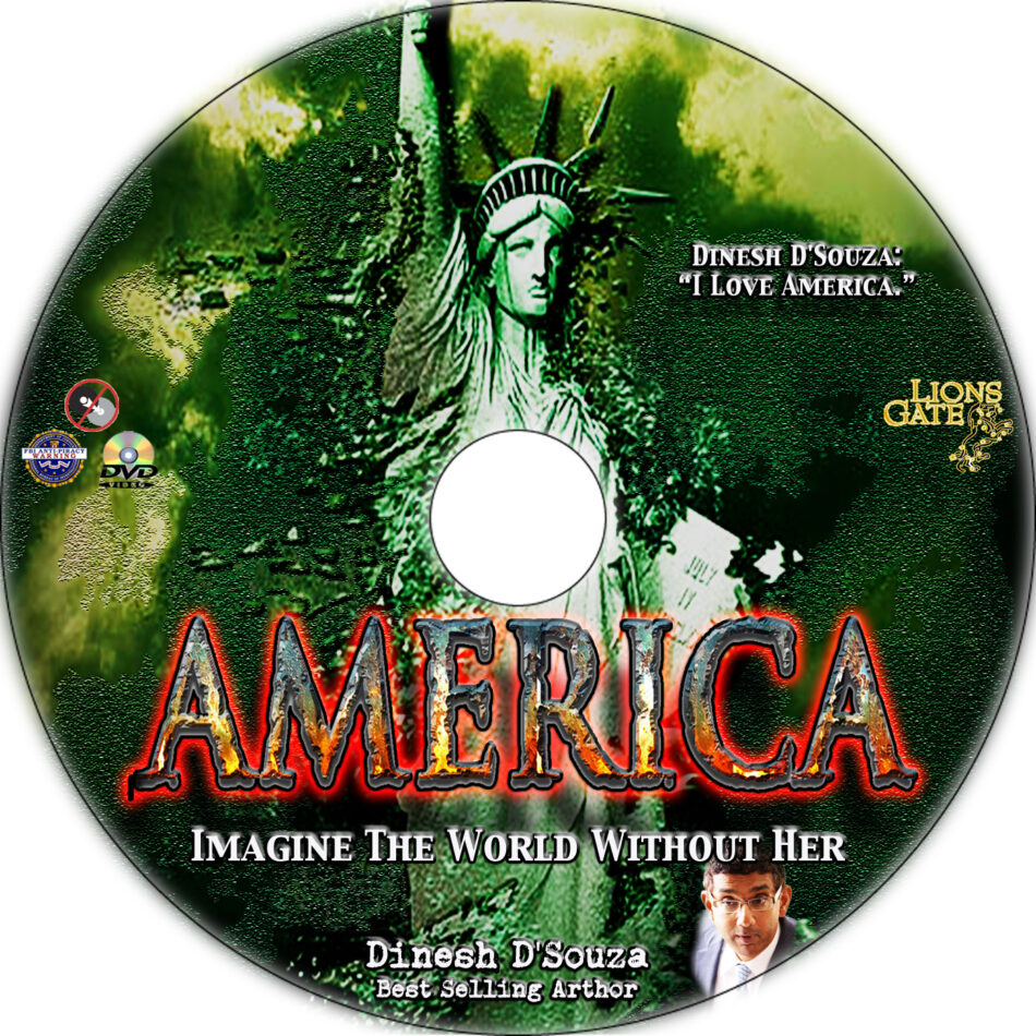 America: Imagine the World Without Her dvd label