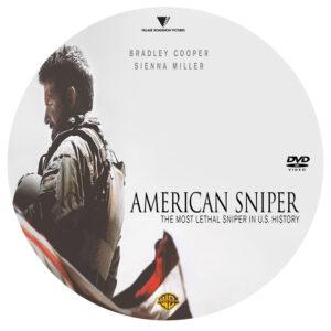American Sniper dvd label