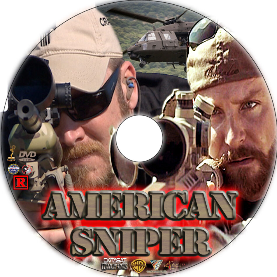 American Sniper dvd label