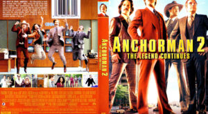 Anchorman 2: The Legend Continues dvd cover