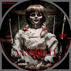 Annabelle dvd label