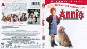 Annie Blu-Ray DVD Cover