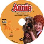 Annie (1982) DVD Label