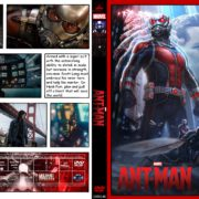 Ant-Man (2015) R0 CUSTOM Covers & Labels