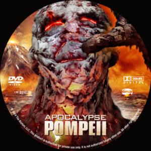 Apocalypse Pompeii dvd label