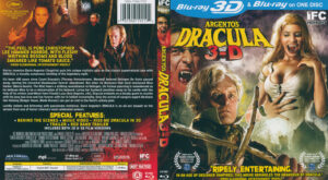 Argento's Dracula 3D (Blu-ray) dvd cover
