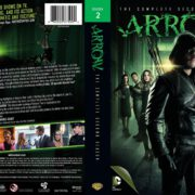 Arrow Season 2 (2013) R1 Custom DVD Cover