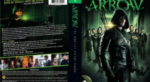 Arrow season 1 dvd cover