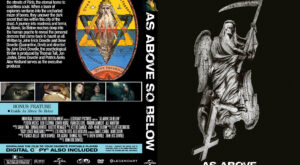 As Above, So Below dvd cover 2014