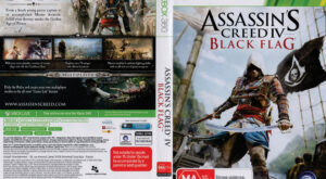 Assassins Creed IV: Black Flag dvd cover