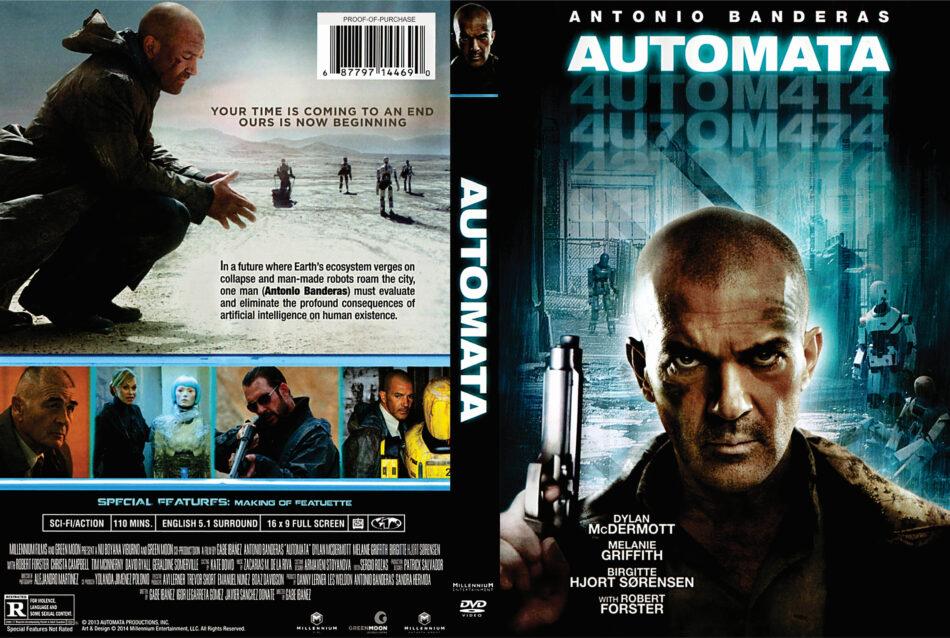 Autómata dvd cover