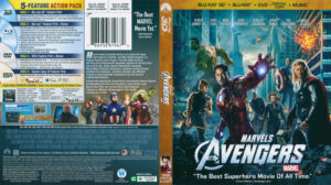 Avengers, The (Blu-ray) dvd cover