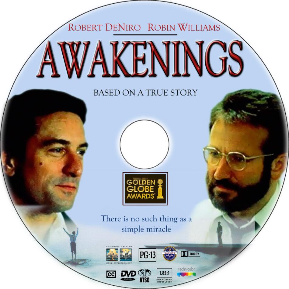 Awakenings dvd label