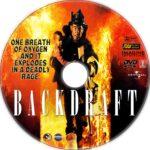 Backdraft (1991) R1 Custom DVD Label
