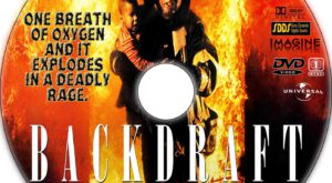 Backdraft dvd label
