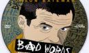 Bad Words (2013) Custom DVD Label