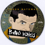 Bad Words (2013) Custom DVD Label