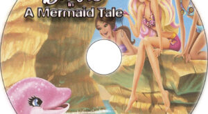 Barbie in a Mermaid Tale dvd label