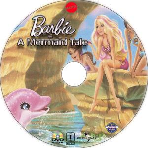 Barbie in a Mermaid Tale dvd label