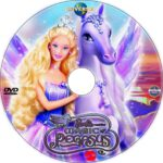 Barbie and the Magic of Pegasus (2005) R1 Custom DVD Label