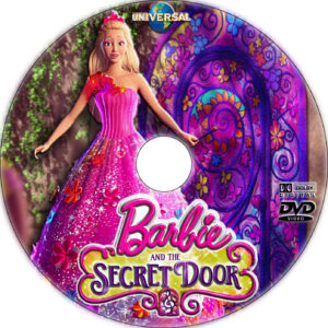 Barbie and the Secret Door dvd label