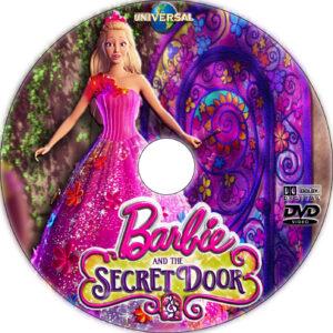 Barbie and the Secret Door dvd label