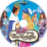 Barbie and the Three Musketeers (2009) R1 Custom DVD Label