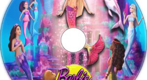 Barbie in a Mermaid Tale 2 dvd label