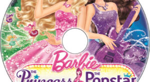 Barbie: The Princess & the Popstar dvd label