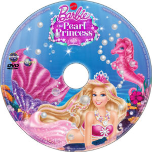Barbie: The Pearl Princess dvd label