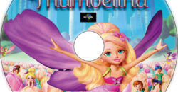 Barbie Presents: Thumbelina dvd label